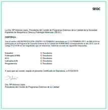 Programa de Garantía de la Calidad para Laboratorios Clínicos