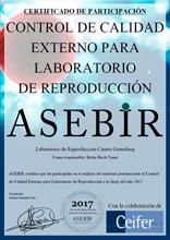 Control de Calidad Externo para Laboratorio de Reproducción